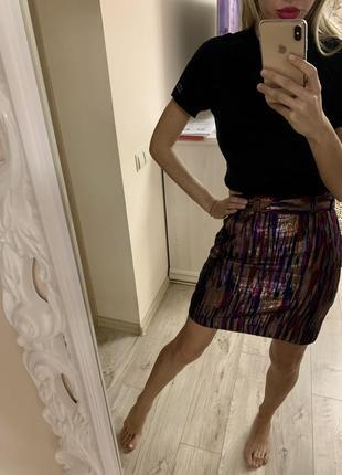 Крутая юбка от h&m размер s