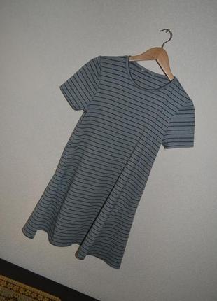 Платье в полоску zara winter collection