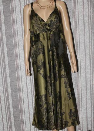 Красивое шелковое платье /100%  шелк