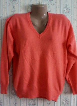 Шерстяной джемпер-свитер, разм. 48-50