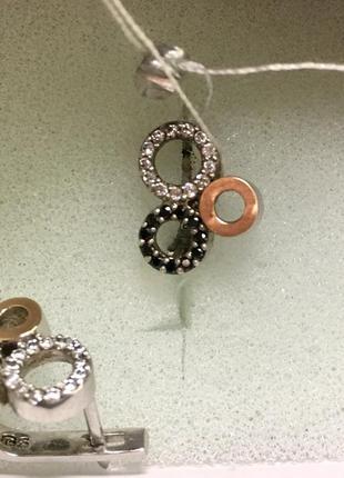 Новые серебряные серьги 😍💎