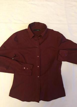 Классная рубашка жен приталенная h&m раз xs(42)