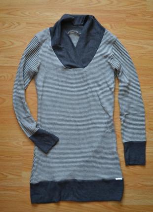 Теплое платье туника (италия)