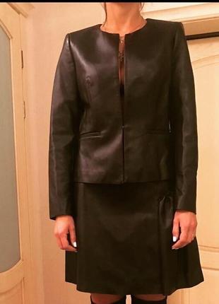 Кожаный костюм, новый. оригинал sandro, 3(46 размер), 11000 грн