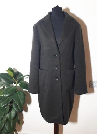 Maura claudia strater вязаное пальто италия