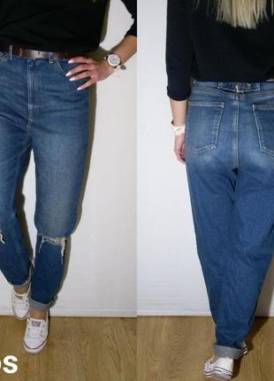 Классные плотные джинсы с завышенной талией asos