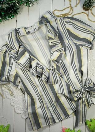 Блуза на запах