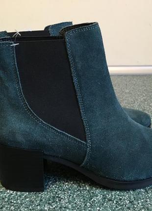 Фирменные ботинки челси 37р