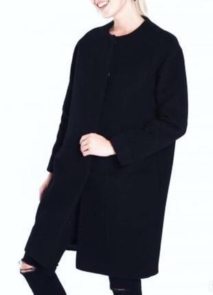Стильное базовое шерстяное пальто 🖤
