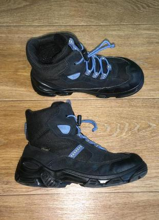 Зимние  термо ботинки ecco gore-tex, оригинал, р-р 35, ст 22,5 см