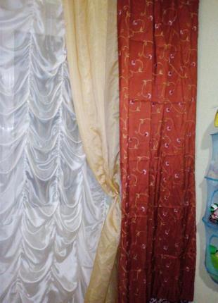 Декоративная шторы портьера