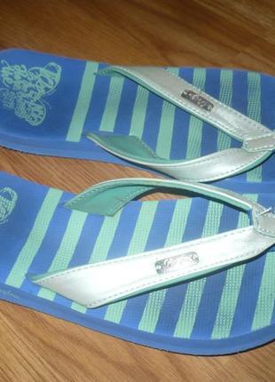 Вьетнамки шлепанцы для девочки пляжные vingino 34р.1