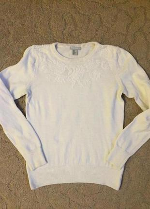 Отличный жен свитер с орнаментом h&m раз m(46)