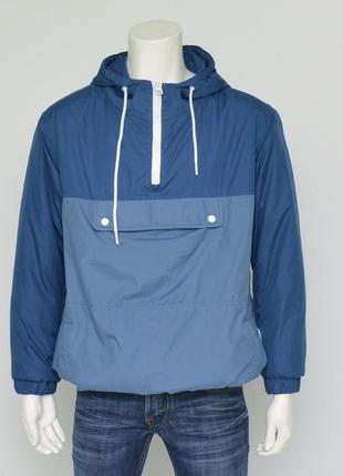 Стильная куртка анорак от bershka холодная весна, теплая зима