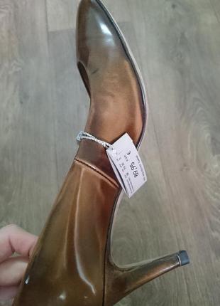 Кожаные туфли uterque 100% кожа (испания)