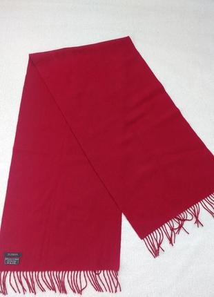 Большой кашемировый шарф плед кашемир + шерсть