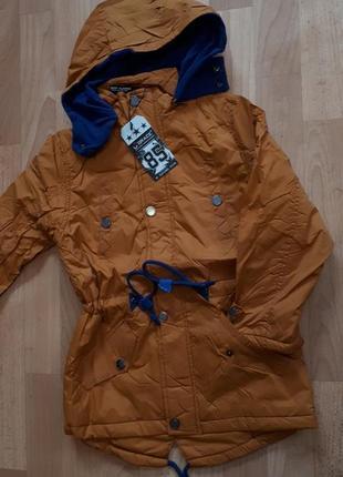 Куртка парка грейс демисезон 134.140 на 128-134