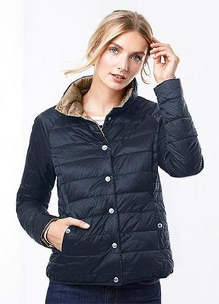 Стеганная двухсторонняя деми куртка от тсм tchibo (чибо), германия, размер укр 50-52