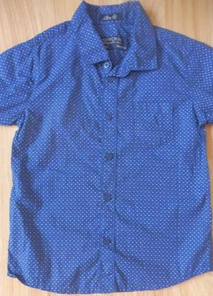 Фирменная рубашка mayoral малышу 2-3 года состояние новой