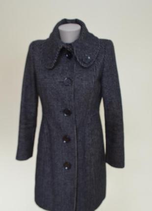 Шикарное пальто с шерстью классика немецкое качество
