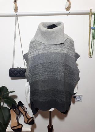 Bcbgmaxazria свитер - пончо шерсть, кашемир