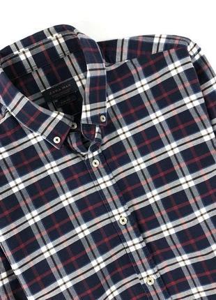 Красивая рубашка zara man размер м