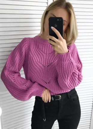 Пурпурний светрик