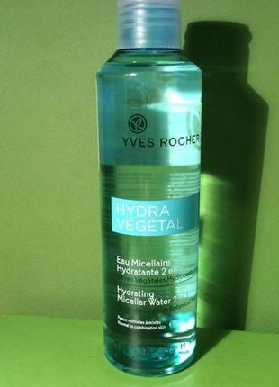 Увлажняющая мицеллярная вода 2 в 1 гидра вежеталь