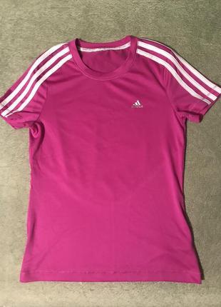 Женская спортивная термо футболка adidas climacool