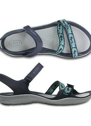 Crocs swiftwater sandal сандалии крокс w9