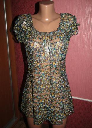 Блуза р-р 14-хл бренд per una