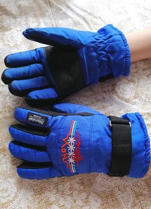 Горнолыжные перчатки thinsulate 40 gram ( р.5)