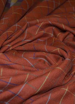 Большая шерстяная  шаль платок etro шерсть и шелк