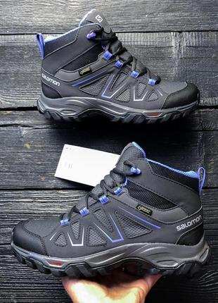 Salomon tibai mid gtx, ботинки, саломон, новые, оригинал