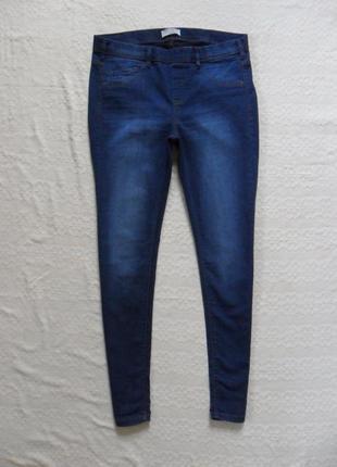 Cтильные джинсы джеггинсы скинни clockhause, 16 размер.