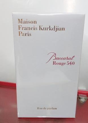 Baccarat rouge540 миниатюра пробник original refillis' 7,5 мл (из набора)3