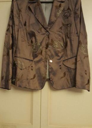 Пиджак деловой женский размер 52-54
