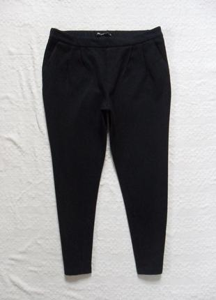 Стильные черные штаны бойфренды only, xl размер.