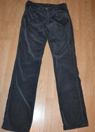 Велюровые брюки от armani jeans