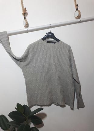 Шерстяной свитер оверсайз bachrach