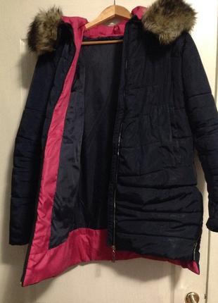 Зимнее пальто синтепон