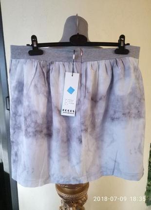 Котон  и шелк,новые юбки,доступны в размерах m,l,xl2 фото