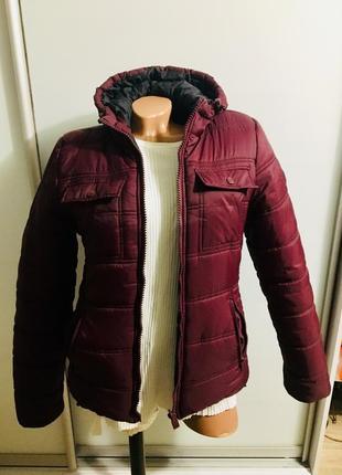Куртка, курточка, пуховик фуксия