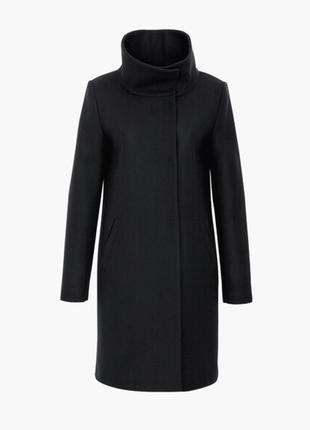 Доступно - деми-пальто *hallhuber* eur38 р. - 75% шерсть!!