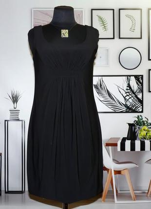Платье мини коктейльное трикотажное twenty one