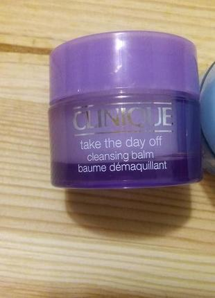 Clinique take the day off бальзам для снятия стойкого макияжа