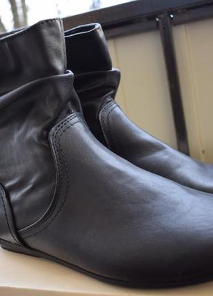 Стильные ботинки ботильоны george р.42 27,5 англия, оригинал