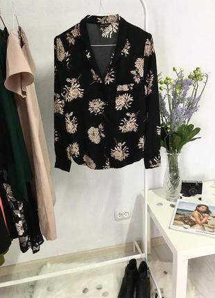 Блуза в квітковий принт від new look🖤🖤🖤