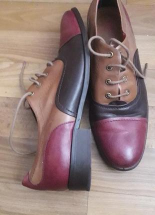 Туфли san marina, кожа
