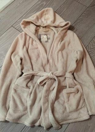 Плюшевый халат/короткий халат-пиджак